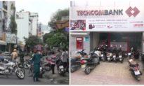 Bắt được nữ nghi phạm cướp ngân hàng Techcombank ở TP. HCM