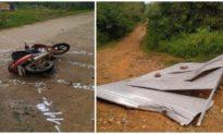 Bão số 9 cuốn tôn bay, va trúng người đi đường ở Đắk Lắk tử vong