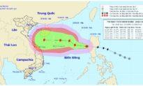 Bão Saudel giật cấp 10 vào biển Đông và liên tục mạnh thêm, khu vực từ Quảng Trị đến Phú Yên mưa giảm dần