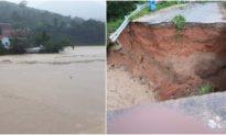 Kon Tum chìm trong biển nước sau bão số 9, di dời dân khẩn cấp tránh sạt lở