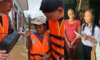 Thủy Tiên tuyên bố tài trợ 2 học sinh nghèo vùng lũ học hết đại học