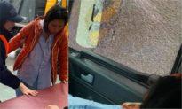 Quá vội chở sản phụ đi cấp cứu, xe cứu trợ của Hòa Minzy bị ném đá vỡ kính