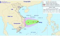 Áp thấp trên biển Đông sẽ mạnh lên thành áp thấp nhiệt đới, mưa lớn kéo dài ở Trung Bộ