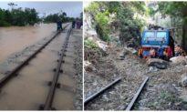 Đường sắt Bắc - Nam thông tuyến trở lại sau gần 1 tuần tê liệt vì mưa lũ