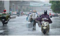 Không khí lạnh tràn về, Bắc Bộ mưa lớn kéo dài