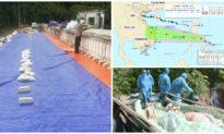 Tin chiều 14/10: Xuất hiện vết nứt sâu giữa đập chứa gần 200 triệu m3 nước, Việt Nam ghi nhận thêm 9 ca mắc COVID-19 mới