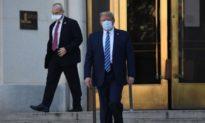 Tổng thống Trump xuất viện