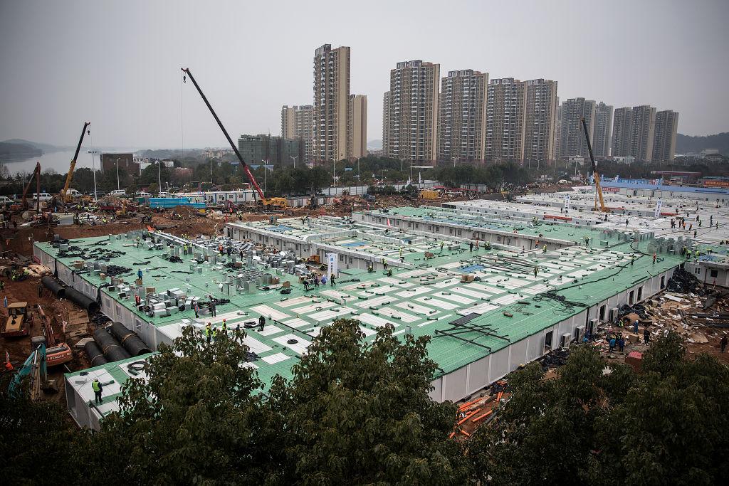 Bệnh viện Hỏa Thần Sơn tại Vũ Hán
