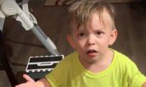 Các bà mẹ lưu ý: Phản ứng 'cực gắt' của cậu bé 2 tuổi chỉ vì lý do này...