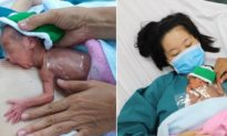 Sự hồi sinh kỳ diệu của bé gái sinh cực non chỉ nặng 700gram sau 2 tháng