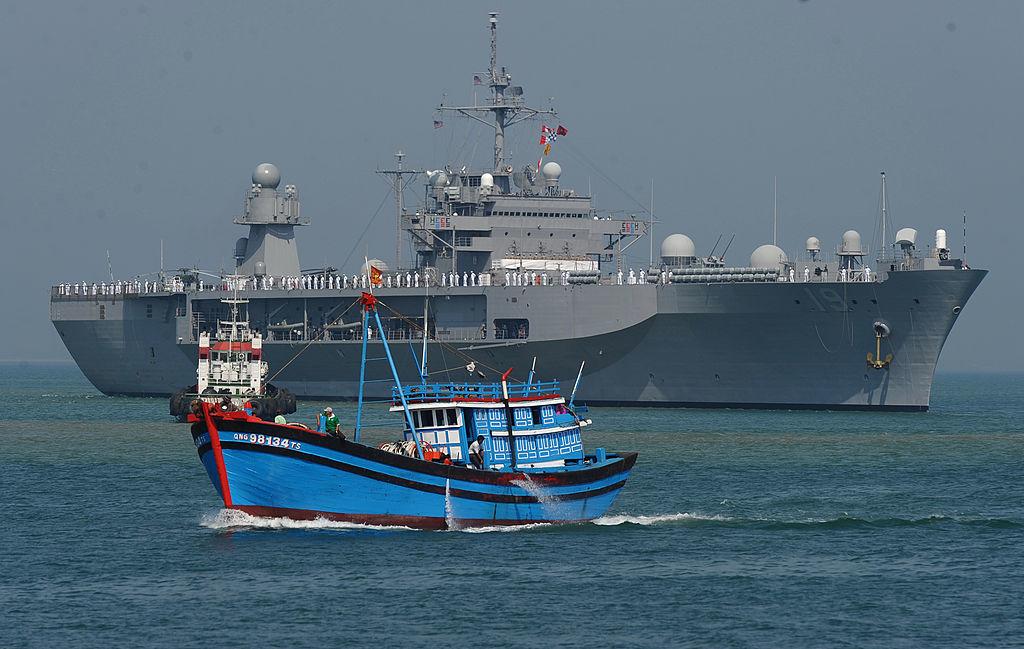 Hải quân Mỹ cảnh báo sẽ 'cương quyết' với Trung Quốc ở Biển Đông