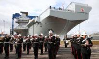 Đô đốc của Anh lo sợ Hải quân Trung Quốc tấn công thông qua vùng biển Bắc Cực