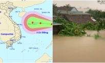 Cập nhật bão số 8 Saudel giật cấp 15 đang đi vào Biển Đông