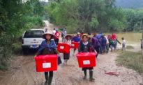 Mỹ hỗ trợ ban đầu 100.000 USD cho miền Trung Việt Nam ứng phó bão