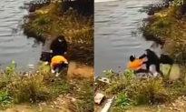 Mải buộc dây giày, cô gái bị bạn thân xô ngã xuống nước và kết cục thương tâm