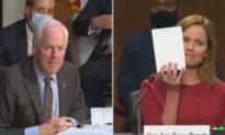 Ấn tượng thẩm phán Amy Coney Barrett trả lời trôi chảy hàng giờ chất vấn mà không cần ghi chép