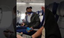 Không đeo khẩu trang… khi ăn, một người da đen ủng hộ TT Trump bị đuổi khỏi máy bay