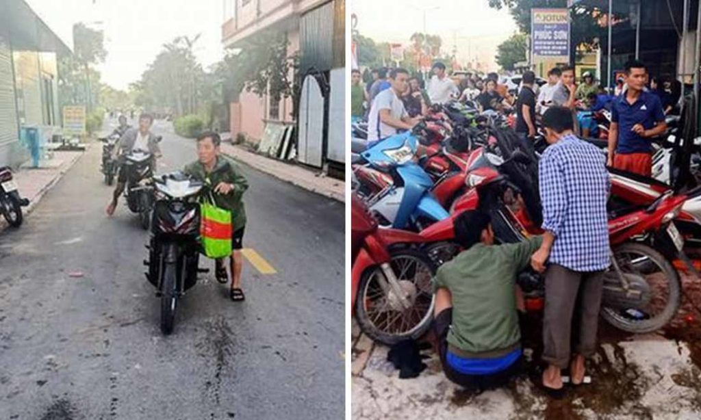 Cảm động: Nhóm thợ tình nguyện ở Hà Tĩnh sửa miễn phí hàng ngàn xe máy hỏng cho bà con sau lũ