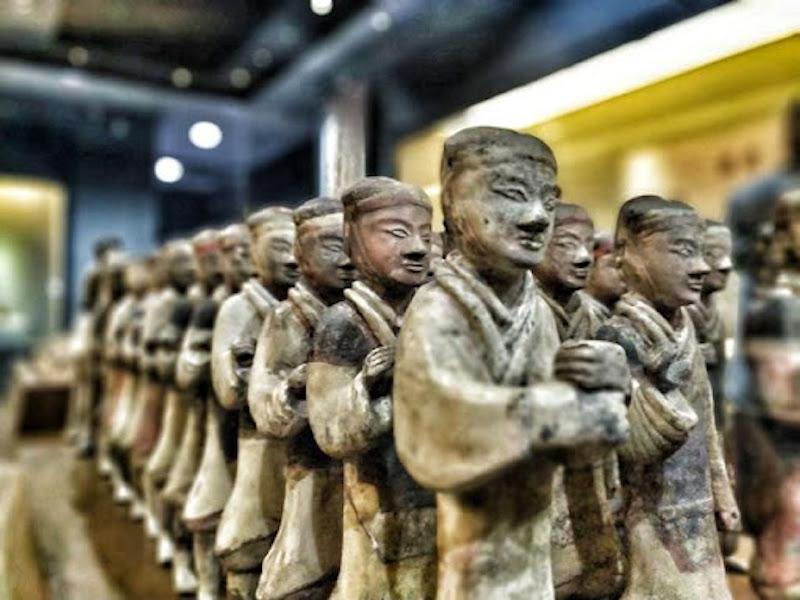 Tượng binh mã thời Tây Hán 4