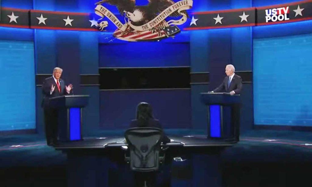 8 điểm nổi bật trong cuộc tranh luận Biden-Trump lần thứ hai