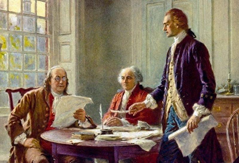 bản tuyên ngôn độc lập của Mỹ 3
