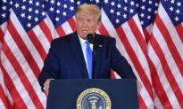 Tổng thống Trump đang dẫn 6 bang trong 7 bang còn lại, khả năng thắng cử rất cao