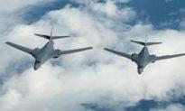 Máy bay ném bom B-1B của Mỹ tiến vào không phận Trung Quốc