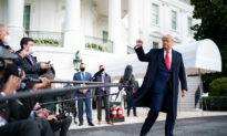 Ông Trump thông báo tình hình kịch tính tại 4 bang chiến trường