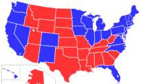 Tại sao màu đỏ gắn với đảng Cộng hòa và màu xanh với đảng Dân chủ?
