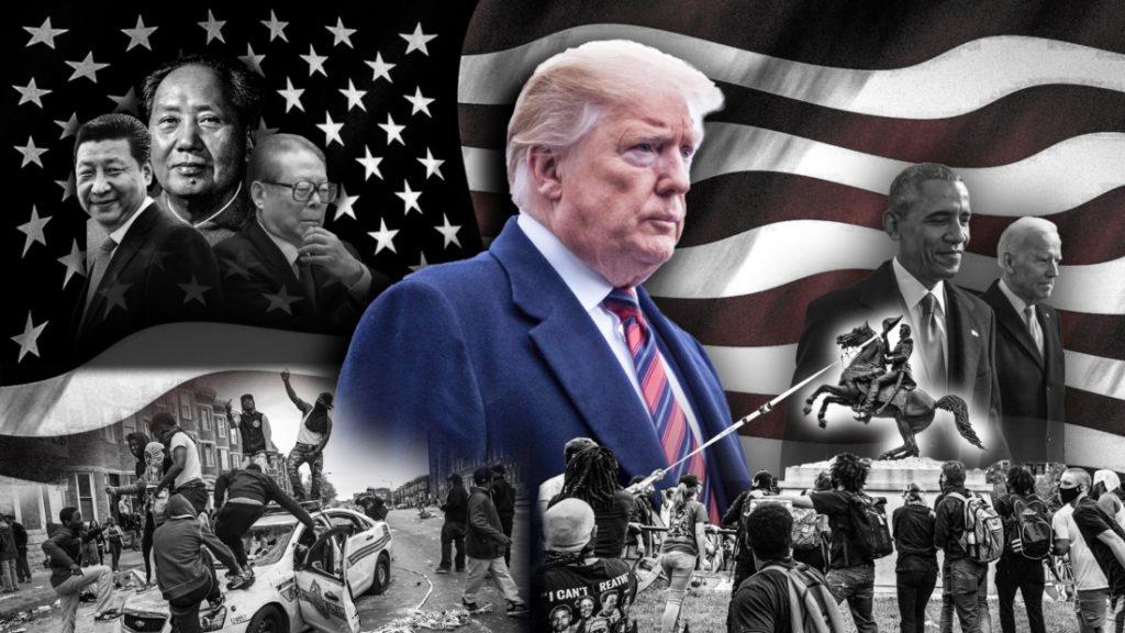 Tái hiện Đại Cách mạng Văn hóa Trung Quốc trong cuộc bầu cử Mỹ năm 2020