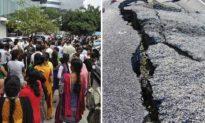 Âm thanh bí ẩn kèm theo dư chấn ở Ấn Độ khiến người dân sợ hãi