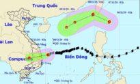 Bão số 10 vừa suy yếu, Biển Đông sắp phải hứng thêm một cơn bão khác