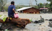 Bão Goni nhấn chìm làng mạc ở Philippines, đang tiến vào biển Đông