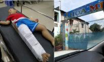 Bé 3 tuổi bị gãy xương đùi trong lớp: Cô giáo khai gác chân phải của bé lên cổ