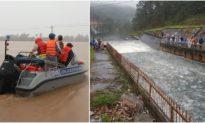 Lũ ở Quảng Ngãi đã vượt báo động 3, 5 hồ thủy lợi ở Lâm Đồng có dấu hiệu bất thường