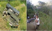 Ôtô lao xuống vực sâu 100 m ở Hà Giang, 7 người thương vong