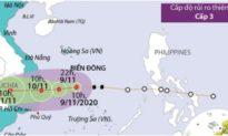 Hôm nay học sinh 2 tỉnh Khánh Hòa, Phú Yên nghỉ học tránh bão Etau