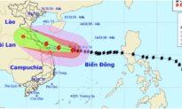 Bão số 13 đang trên khu vực quần đảo Hoàng Sa, có thể đổ bộ miền Trung với sức tàn phá rất lớn