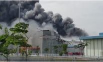 Cháy lớn trong Khu công nghiệp ở TP. HCM, hàng trăm công nhân tháo chạy
