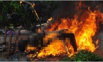 Thi thể nam nhân viên ngân hàng cháy đen trong ngôi nhà hoang ở Trà Vinh