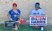 Hai bà mẹ trẻ gạt bất đồng chính trị Trump - Biden sang một bên để duy trì tình bạn bền vững