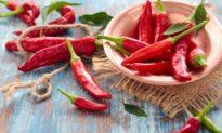 Ớt - Thực phẩm nâng cao sức khỏe tim mạch và kéo dài tuổi thọ
