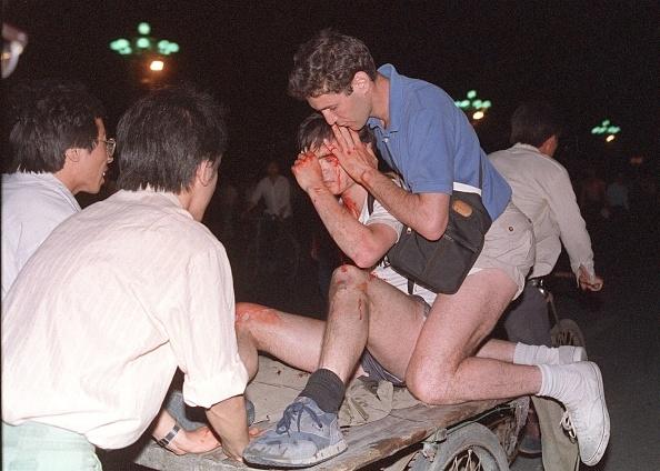 Sự kiện đàn áp đẫm máu sinh viên tại quảng trường Thiên An Môn chưa hề xuất hiện trên truyền thông Trung Quốc, như thể nó chưa từng xảy ra.