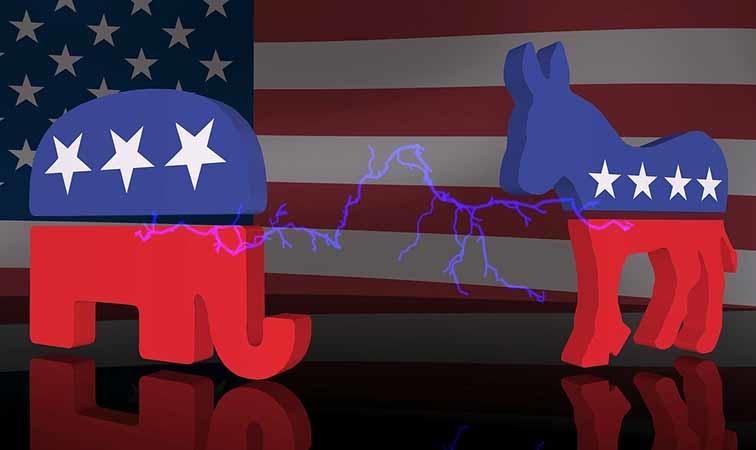 """Có nhiều nghiên cứu đã chỉ ra rằng, cơ chế """"được ăn cả, ngã về không"""" dần dần tạo thành hệ thống 2 đảng."""