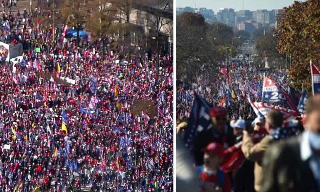 Video: Hàng triệu người diễu hành ủng hộ MAGA tề tựu tại Washington DC
