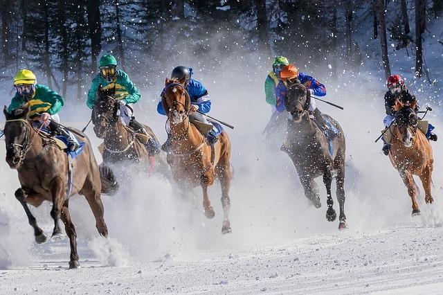 Trong cuộc đua, con ngựa được Ngài chọn đã bị tụt lại phía sau suốt từ đầu cuộc đua, nhưng đến phút cuối cùng, con ngựa đó đã lao hết mình về phía trước, và cuối cùng đã ngược dòng chiến thắng.