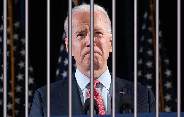 Joe Biden có thể sẽ bị bỏ tù. (Getty)