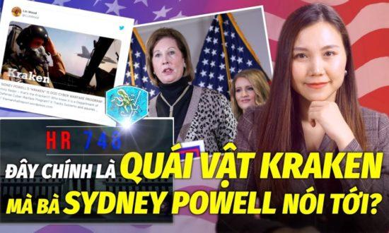 """TIN TỐI 25/11: Cựu đặc nhiệm DEA dự đoán """"quái vật Kraken"""" mà luật sư Sydney Powell sắp tung ra"""