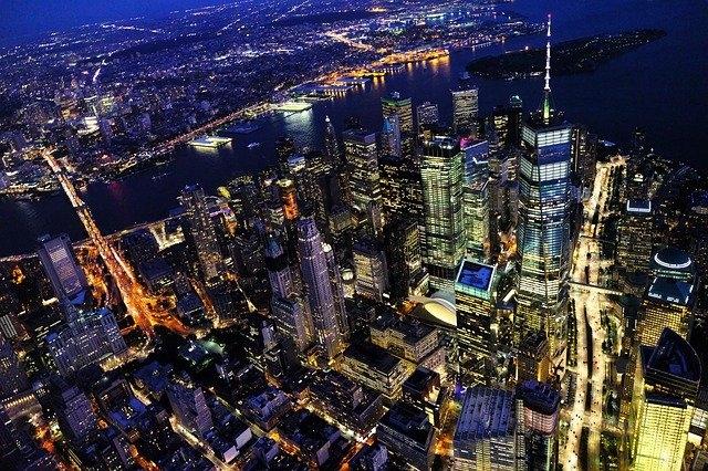 """New York - tiểu bang được coi là """"thành trì"""" của đảng Dân chủ. (Pixabay)"""