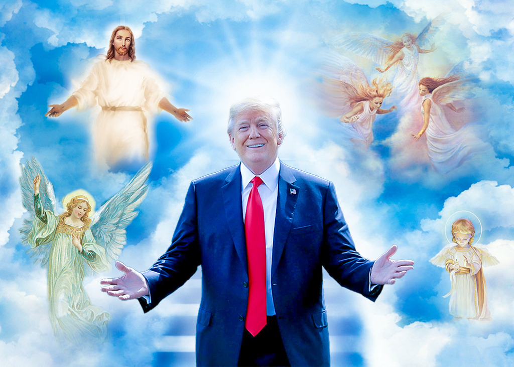 Trong cuộc tổng tuyển cử, Thần đang chọn người tốt